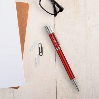 Viva Pens Tess Kugelschreiber Linkshänder (Orange Rot)