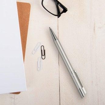 Viva Pens Tess Kugelschreiber Rechtshänder (Silberfarben)