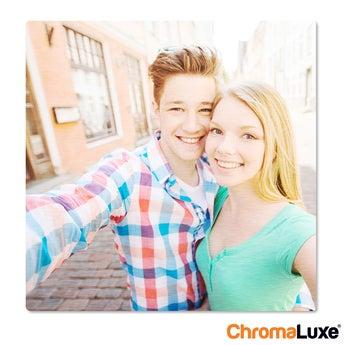 Fototafel ChromaLuxe 60x60 cm gebürstet