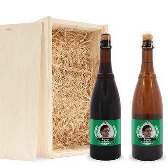 Bier Geschenkset Westmalle Dubbel und Tripel
