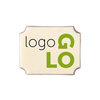 Pralinen mit Logo Rechteck