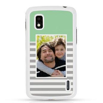 Samsung Google Nexus 4 - Foto case - Wit