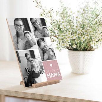 Muttertagskarte selbst gestalten Vertikal