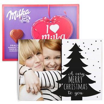 Sag es mit Milka Milka Weihnachten 110 Gramm