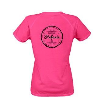 Sportshirt Damen Rosa XXL