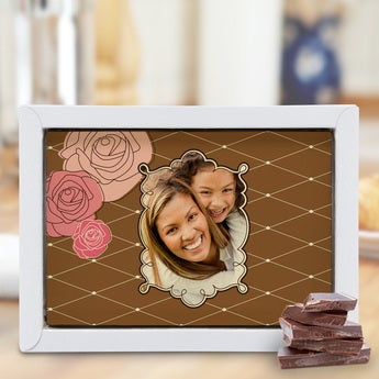 Chocolate Mother's Day Card - Large (Dark)