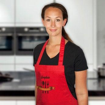Kochschürze Rot