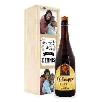 La Trappe Isid'or beer - Custom box