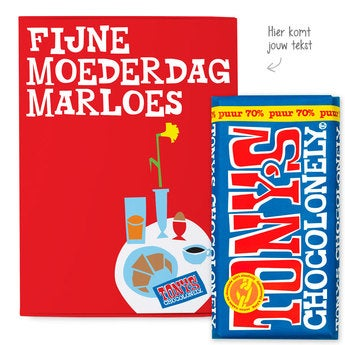 Tony's Chocolonely Giftbox Moederdag (Puur)