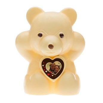 Chocolate Bear - White