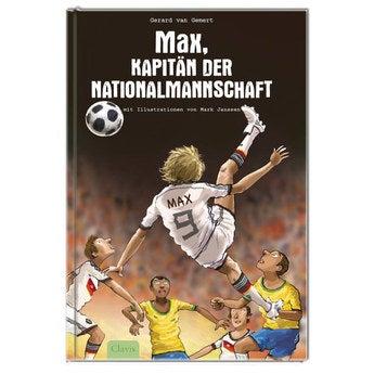 Personalisiertes Buch Kapitän der Nationalmannschaft WM Version Softcover