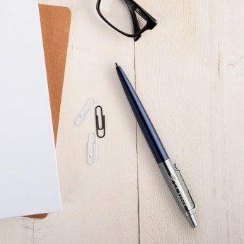 Parker Jotter Kugelschreiber Rechtshänder (Blau)