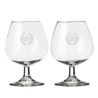 Cognacglas 2 Stück