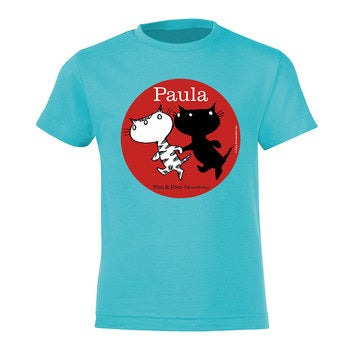 Pim Pom T Shirt Kinder Blau 6 Jahre