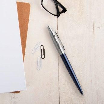 Parker Jotter Kugelschreiber Linkshänder (Blau)
