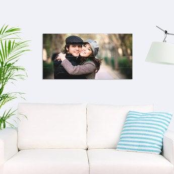Foto auf Holz Bretter Horizontal (80x40 cm)