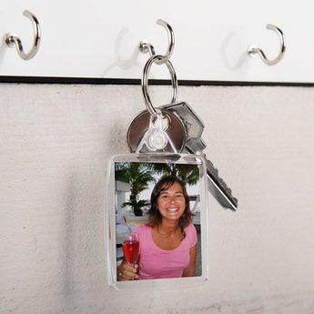 Schlüsselanhänger Transparent Set von 50
