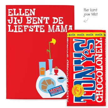 Tony's Chocolonely Giftbox Moederdag (Melk)
