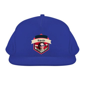 Basecap blau