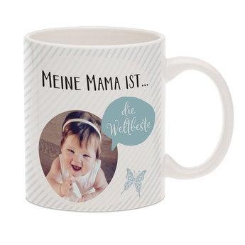 Fototasse Muttertag