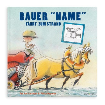 Kinderbuch Der Bauer geht ans Meer XXL Hardcover