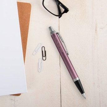 Parker IM Kugelschreiber Linkshänder (Lila)