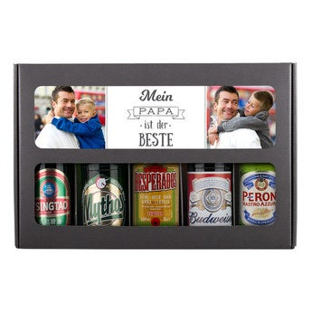 Bier Geschenkset Internationale Biere