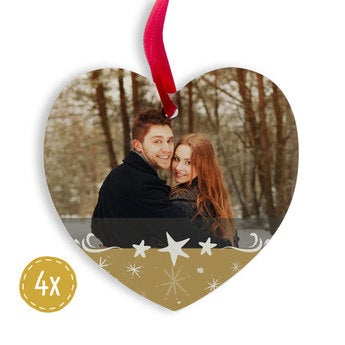 Weihnachtsbaum Deko Herz (4)