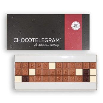 Chocotelegram Präsentkarton 3x12