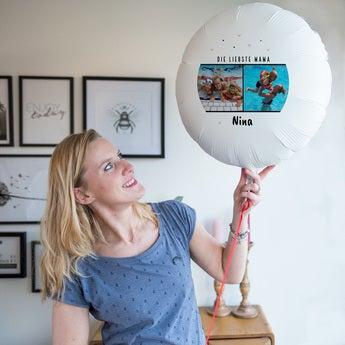 Ballons bedrucken Muttertag