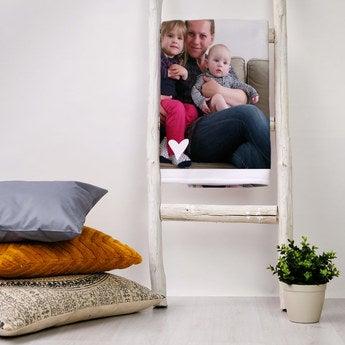 Mother's Day fleece blanket - 120 x 190 cm