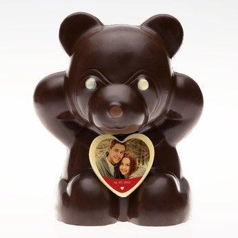 Schokoladenbär Dunkle Schokolade