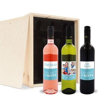 Weinpaket Vatertag Luc Pirlet