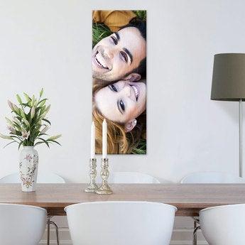 Foto op aluminium - geborsteld (30x80cm)