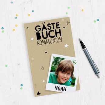 Gästebuch zur Kommunion A5 Softcover