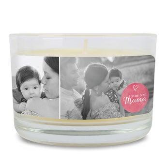 Duftkerze im Glas Muttertag Vanille