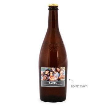 Bier mit eigenem Etikett Duvel Moortgat