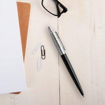 Parker Jotter Kugelschreiber Linkshänder (Schwarz)