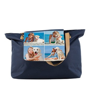 Shoppingbag Blau