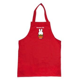 Miffy Kinderschürze Rot
