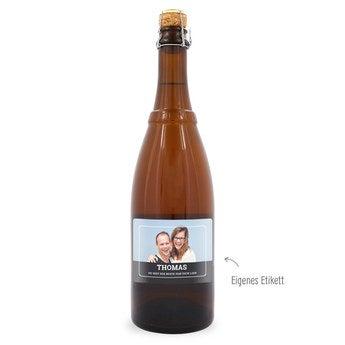 Bier mit eigenem Etikett Westmalle Tripel