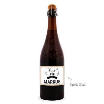 Bier La Trappe Isid'or Etikett