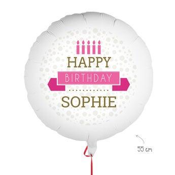 Ballon bedrucken Geburtstag