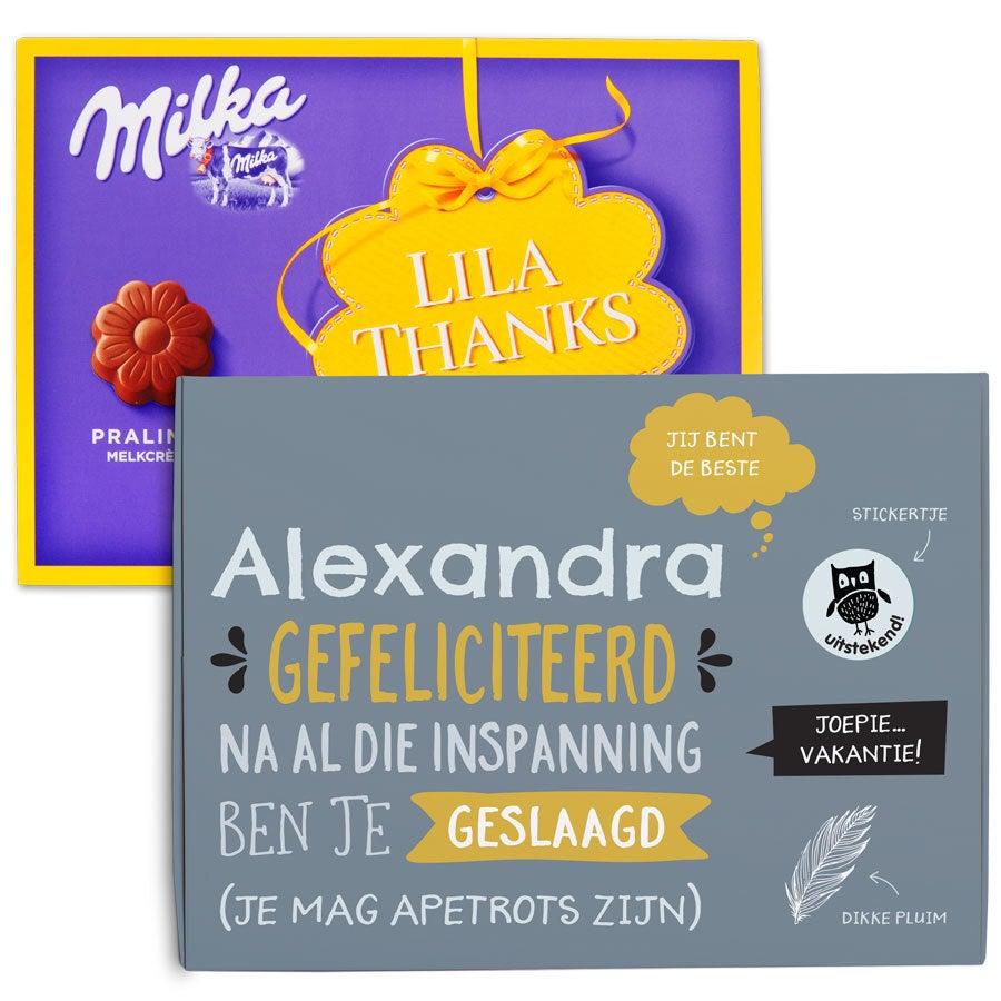 Milka chocobox - Examen - 110 gram