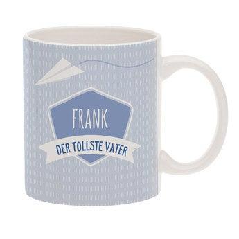 Tasse mit Namen Vatertag