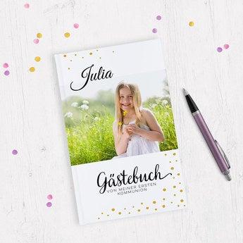 Gästebuch zur Kommunion A5 Hardcover