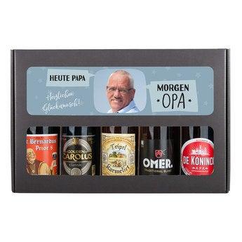 Bier Geschenkset Opa Belgisches Bier