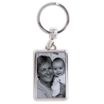 Schlüsselanhänger mit Foto Oma