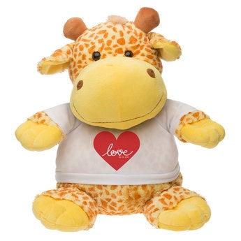Kuscheltier Große Giraffe
