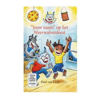 Boek met naam - Dolfje Weerwolfje Weerwolvenfeest (Softcover)